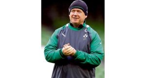 Ireland head coach Declan Kidney can morph into Trapattoni. photograph: INPHO/dan sheridan