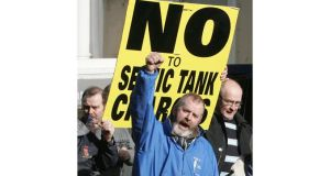 A boycott of the E50 septic tank charge is being urged. Photograph: Alan Betson/The Irish Times