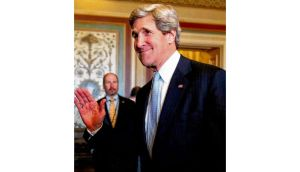 "John Kerry: ""on top of his brief and highly capable"" but we should perhaps expect no major breakthroughs. photograph: alex wong/getty images"
