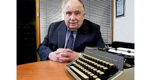 "Hugh McIlvanney called Malcolm Brodie ""a one-man industry"", a Glaswegian who rarely hid his viewpoint. ""If Malcolm wanted an opinion from Irish sports officials, he gave it to them."" Photograph: Presseye"