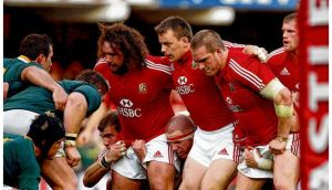 The all-Wales Lions frontrow of Adam Jones, Matthew Rees and Gethin Jenkins are reunited today in Cardiff.