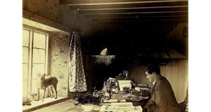 Yeats at Cashlauna Shelmiddy, his Devon cottage, circa 1900. photographs: alan betson, courtesy ngi archive
