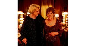 Golden moments: Maggie Smith and Pauline Collins in Quartet, directed by 75-year-old Dustin Hoffman