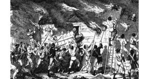 All Irish?: the Scullabogue atrocity of 1798, depicted by George Cruikshank.