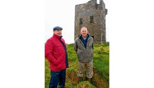 Con Hayes (right), with his brother JJ, at the Old Head of Kinsale tower. photographs: michael mac sweeney/provision