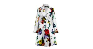 Floral trench by Moschino €625 from Arnotts