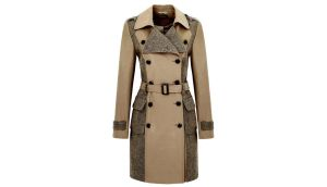 Tweed trench by Limited Edition €120 from Marks & Spencer