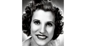 Patty Andrews: youngest of the trio which was a 1940s phenomenon