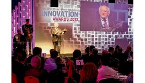 President Michael D Higgins at last year's Innovation Awards.