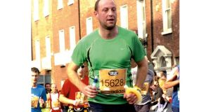 Gavan Farrell: His biggest achievement to date was completing the Dublin marathon when he had man flu.