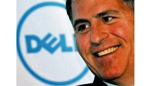 "Competitors were quick to pour cold water on the proposed deal, Hewlett- Packard saying: ""Dell has a very tough road ahead."" photograph: reuters"