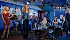 The cast of Nashville.