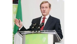 Taoiseach Enda Kenny is in Brussels for the EU budget meeting. Photograph: Niall Carson/PA Wire