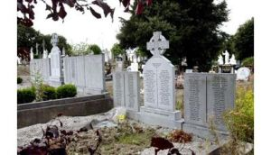 Memorials to former residents of the Magdalene laundry Graves at St Mary's, Beechlawn House, in Glasnevin Cemetery, Dublin.