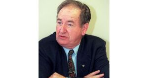 Kieran Kennedy was director of the Economic and Social Research Institute (ESRI) from 1971 to 1996. Photograph: David Sleator/The Irish Times