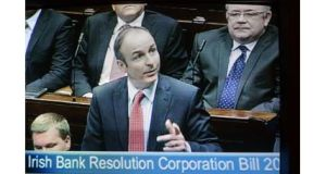 Fianna Fail leader Micheal Martin: gave a conditional welcome to the deal
