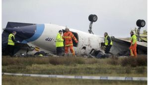 The Manx2 airline flight from Belfast to Cork overturned and caught fire while making a third attempt to land at about 9.45am. Six people died in the incident while another six were injured.