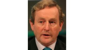 Taoiseach Enda Kenny: conceded there are 'tough negotiations' ahead. Photograph: Niall Carson/PA Wire