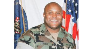 Shooting suspect Christopher Jordan Dorner, who has threatened `warfare? against police officers.  Photograph: Reuters