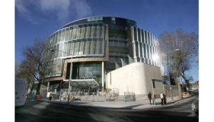 The Criminal Courts of Justice building in Dublin