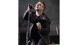 Bono for pope? Paddy Power is offering odds of 500/1 for the U2 frontman to become the next pontiff. Photograph: Yui Mok/PA Wire