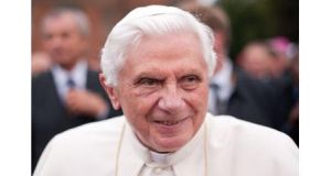 Pope Benedict XVI photographed in 2010. The pontiff is to resign his office after declaring he was too old to carry on as head of the Catholic Church. Photograph: Leon Neal/PA Wire