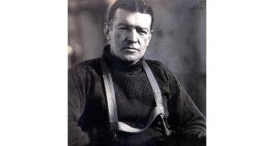 The modern-day team of six used similar equipment and clothes as Ernest Shackleton (above) did, but the harsh conditions forced several of them to abandon their attempt along the way. Photograph: PA