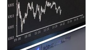 EU and US markets fall ahead of Cyprus aid talks.