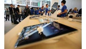 Apple's profit margins are falling back to levels not seen since sales took off after the 2007 debut of the iPhone.