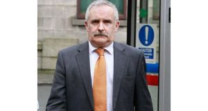Paul Drury defended the article he wrote about Denis O'Brien in the High Court today. Photograph: Collins Courts