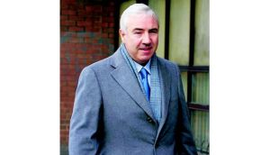 Sean Dunne will face bankruptcy proceedings in the US over a ?164 million debt. Photograph: Bryan O?Brien/The Irish Times