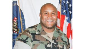Christopher Dorner (33), is accused of targeting law enforcement officers and their families in three killings committed in retaliation for his 2008 firing from the Los Angeles Police Department. Photograph: Reuters