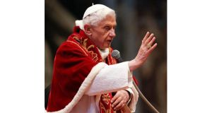Benedict (85) remains pope until 8pm on February 28th, when a period of interregnum or sede vacante (empty chair) will begin, during which the church will be administered by the 'camerlengo' or chamberlain.