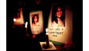 Savita Halappanavar died at the hospital on October 28th last year, a week after she presented with back pain and was found to be miscarrying. Photograph: Julien Behal/PA