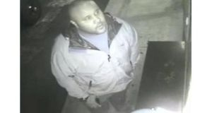 Christopher Dorner in a recent surveillance video at an Orange County hotel in a still image released by the Irvine Police Department. Photograph: Irvine Police Department/Reuters