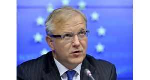 Olli Rehn said countries could get extra time to meet deficit-cutting goals if the growth outlook deteriorates.