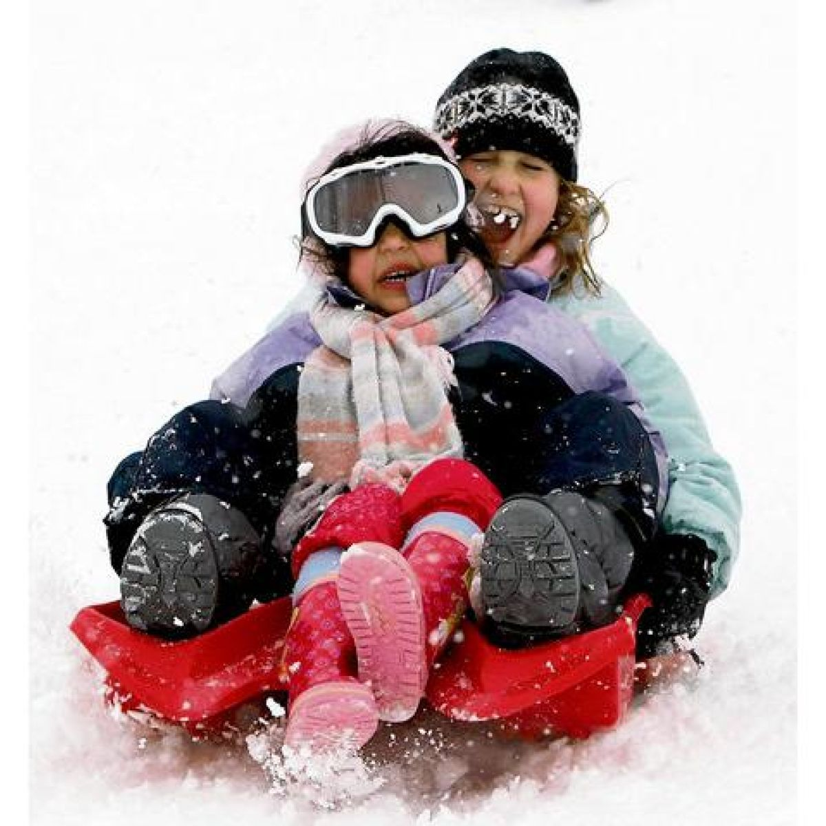 Sledging: safety rules on the hill