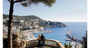 ON THE MED La Colline and Baie des Anges. Photograph: Jean François Tripelon-Jarry/Atout France