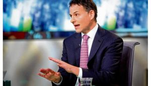 David Einhorn, president and co-founder of Greenlight Capital, which is attempting to force Apple to unlock cash reserves. photograph: bloomberg