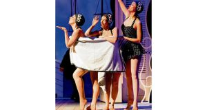 Lucy James, Zoe Doano and Jill Armour in High Society