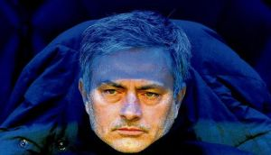 Real Madrid coach Jose Mourinho looks on during last week's La Liga clash against Getafe at the Santiago Bernabeu stadium in Madrid. photographs: dominique faget/jasper juinen/afp/getty images/juan medina/reuters