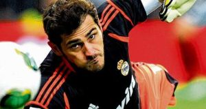 Real Madrid goalkeeper and captain Iker Casillas with whom Mourinho has had a fractious relationship. photographs: dominique faget/jasper juinen/afp/getty images/juan medina/reuters