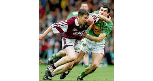 Dessie Dolan in action for Westmeath in 1999. photographs: inpho