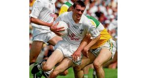 Kildare's Johnny Doyle in action in 2000. photographs: inpho