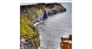 Hag's Head at the Cliffs of Moher