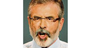 Gerry Adams: about €30,000 paid by friend in US for laser treatment