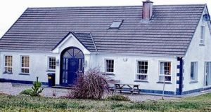 The house at Parkhill, Ballyshannon, which had been bought by Donegal County Council for €230,000 for social housing