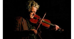 Donegal fiddler Tommy Peoples, this year's Traditional Composer of the Year.