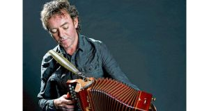 Accordion and melodeon player Dermot Byrne, Traditional Musician of the Year.