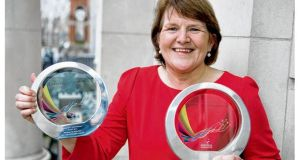 Miriam Kelly, assistant of nursing and midwifery, at Our Lady of Lourdes Hospital Drogheda, who received two awards at the Astellas Awards 2012.